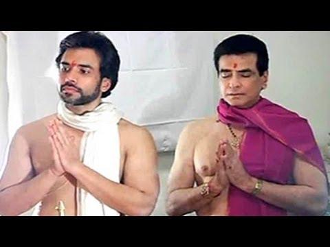 Ganpati Bappa with Tusshar kapoor & Jeetendra