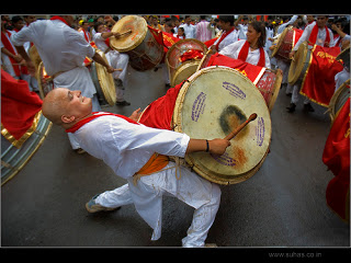 Live Ganpati Visarjan from PUNE 2014