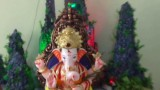Home Ganpati Bappa Decoration Pune