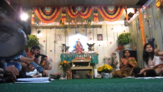 Ganpati Festival Hicksville New York 2014
