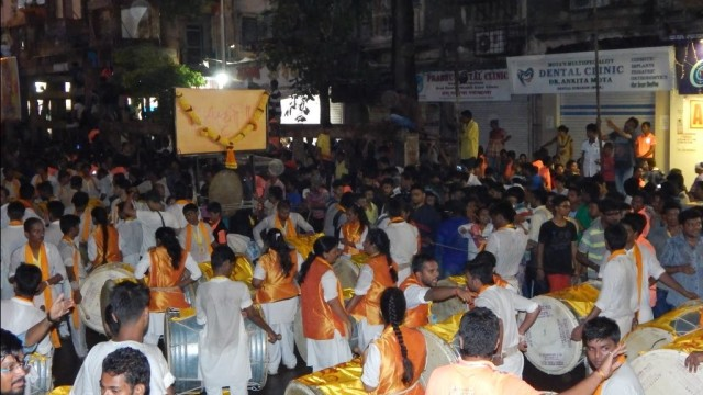 Sanskruti Dhol Tasha Pathak Ganpati 2015