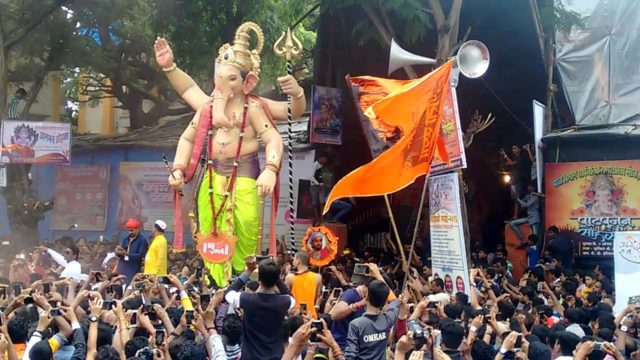 Welcome of Lord Ganesha 2016 Aagman