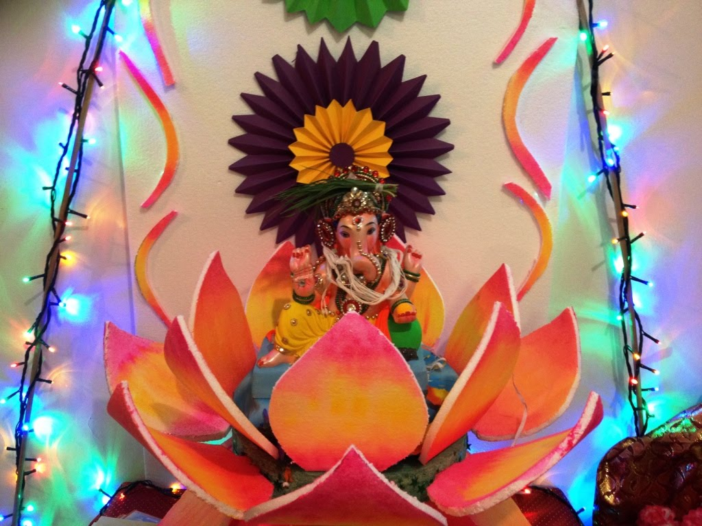 Ganpati Home Decoration Ideas