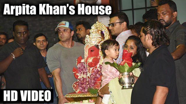 Salman Khan Ganpati Visarjan 2017